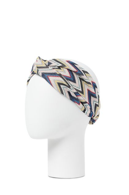 MISSONI Head band Sand Woman - Front
