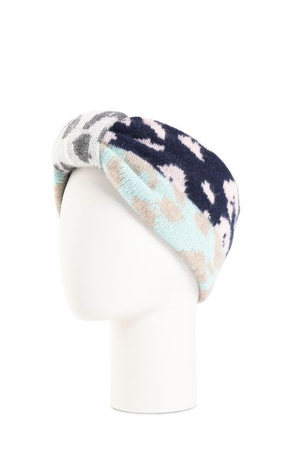 MISSONI Head band Dark blue Woman - Front