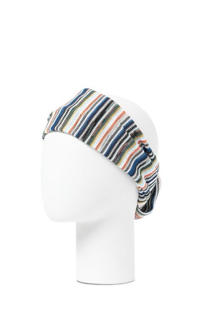 MISSONI Head band Blue Woman - Front