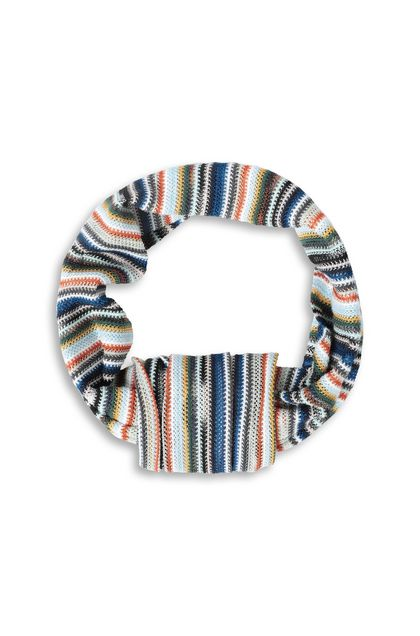 MISSONI Head band Blue Woman - Back