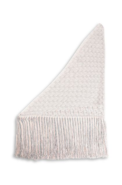 MISSONI Shawl Silver Woman - Front