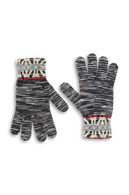 MISSONI Gloves Black Woman - Back