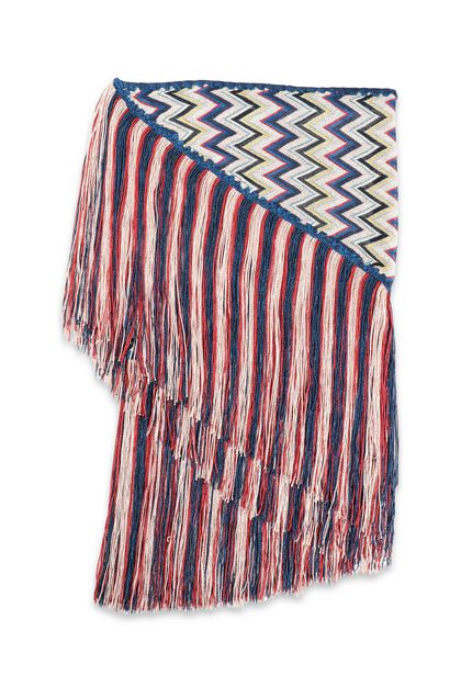 MISSONI Shawl Blue Woman - Front
