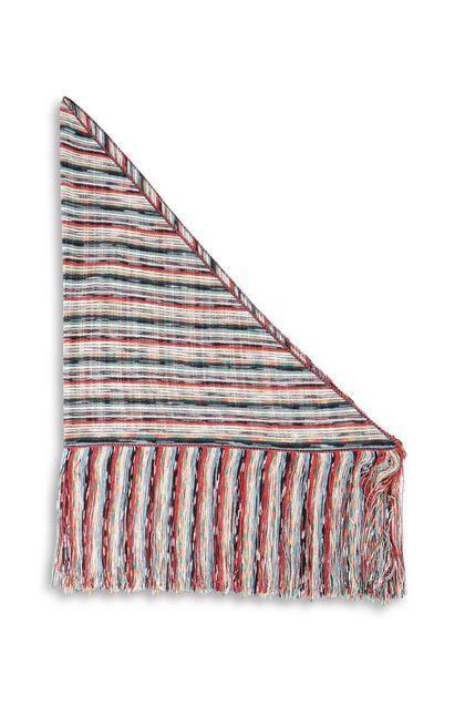 MISSONI Shawl Red Woman - Front