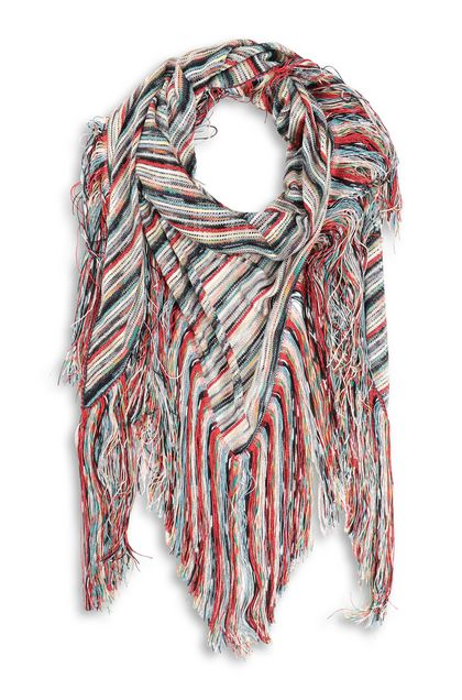 MISSONI Shawl Red Woman - Back