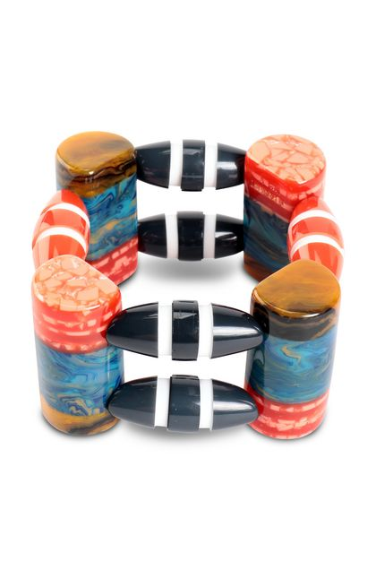 MISSONI Bracelet White Woman - Back