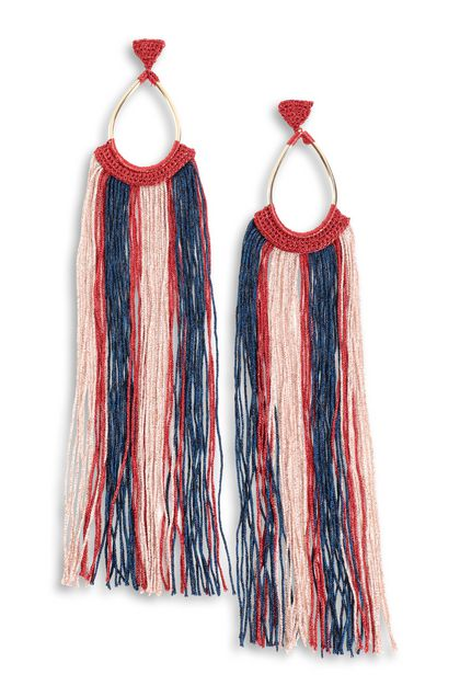 MISSONI Earrings Red Woman - Back