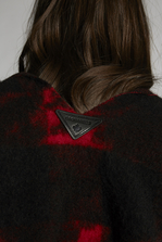 DSQUARED2 Silk & Woven Poncho Shawl Woman
