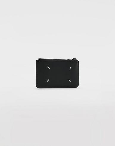 ACCESSORIES Leather zip wallet
