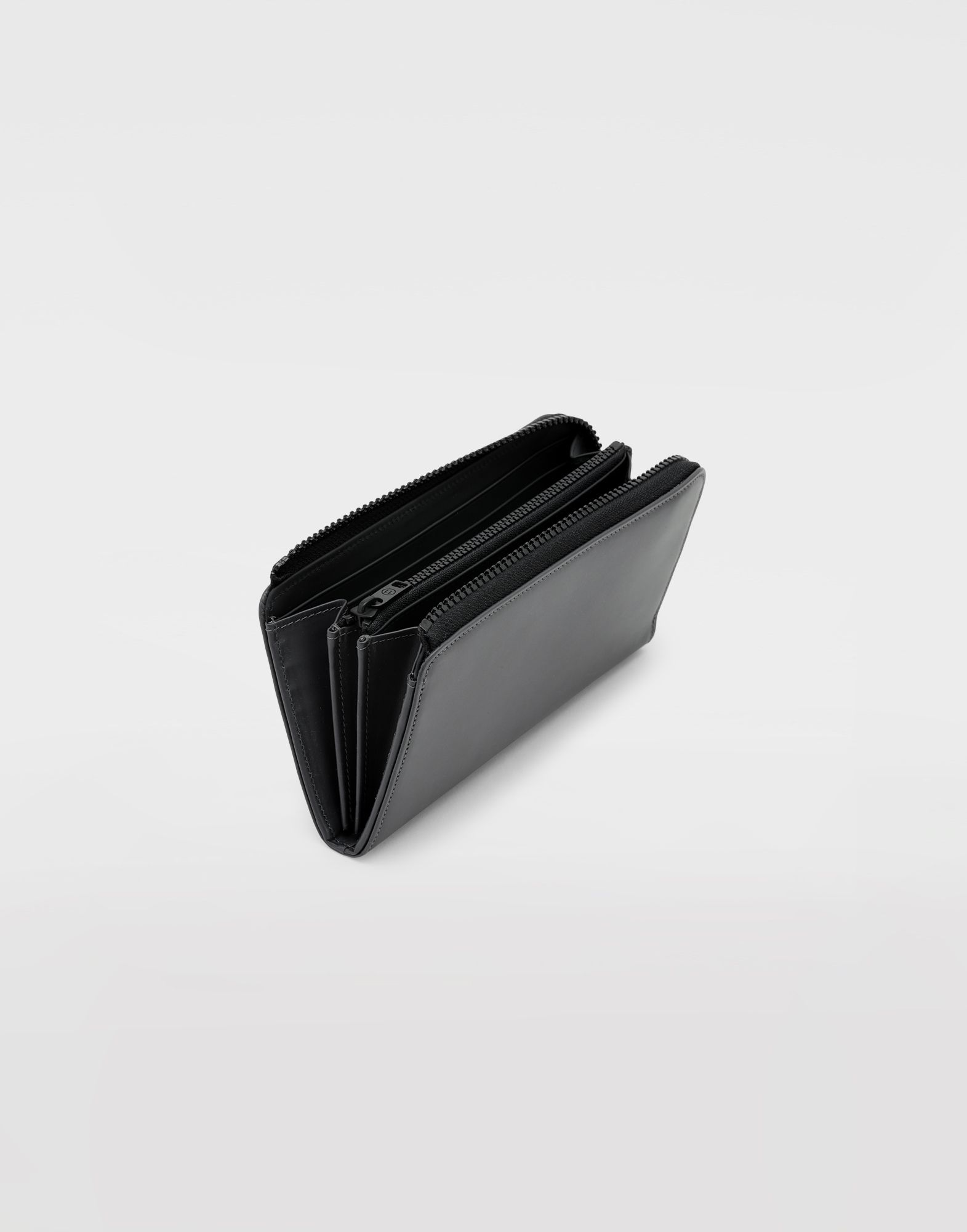 MAISON MARGIELA Leather zip wallet Wallets Man d