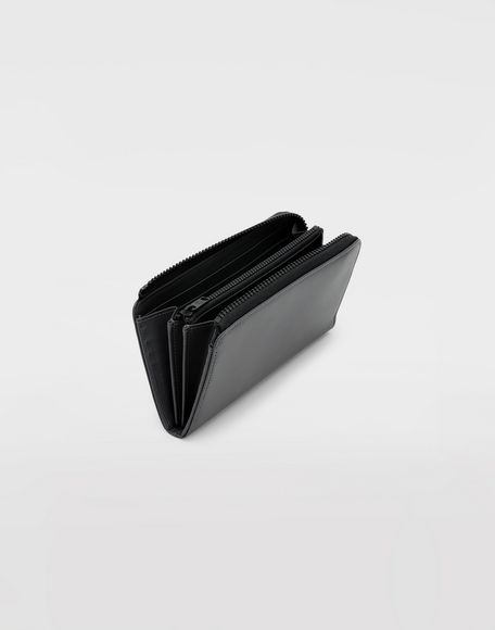 MAISON MARGIELA Leather zip wallet Wallet Man d