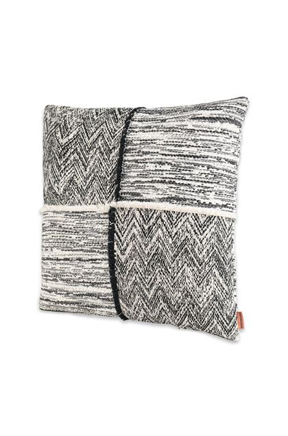 MISSONI HOME WATTENS_PW  CUSHION Black E - Back