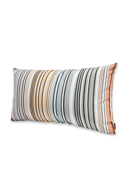 MISSONI HOME WINDHOEK CUSHION Sky blue E - Back