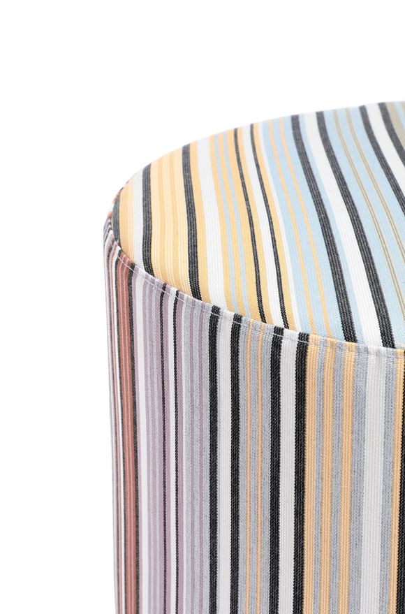 MISSONI HOME WINDHOEK CILINDRO POUF E, Vista dal retro