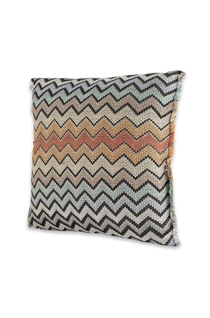 MISSONI HOME WESTMEATH CUSHION Brown E - Back