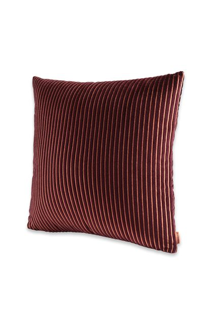 MISSONI HOME RAFAH  CUSHION Deep purple E - Back