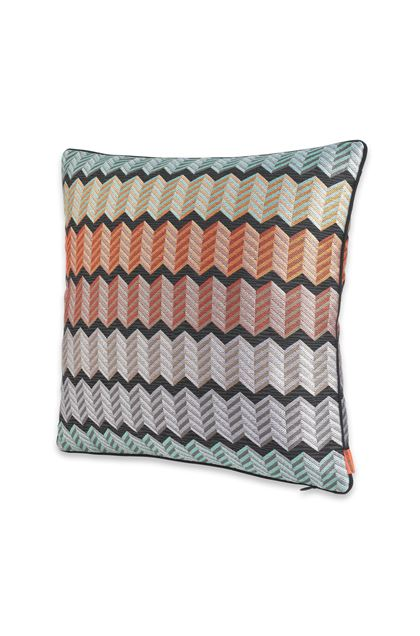 MISSONI HOME WATERFORD KISSEN Hellviolett E - Rückseite