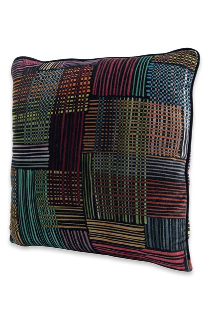 MISSONI HOME WOODSTOCK CUSHION Black E - Back