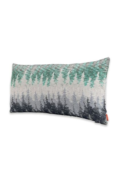 MISSONI HOME WEGGIS CUSHION Light grey E - Back
