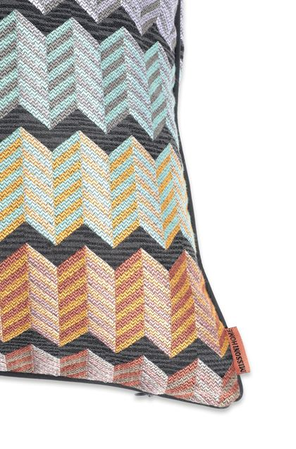 MISSONI HOME WATERFORD KISSEN Hellviolett E - Vorderseite