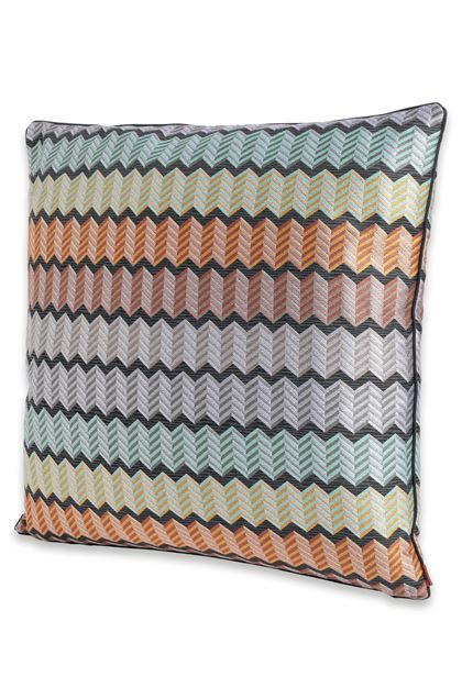 MISSONI HOME WATERFORD CUSHION Light purple E - Back