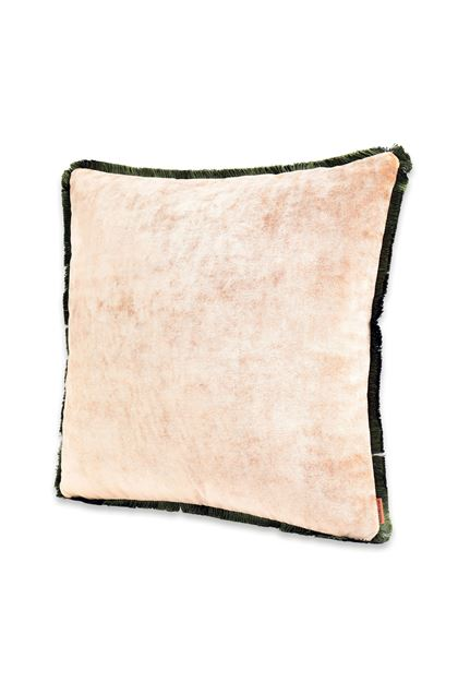 MISSONI HOME TIBET CUSHION    Khaki E - Back