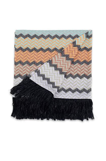 MISSONI HOME WAEL THROW Light green E - Back