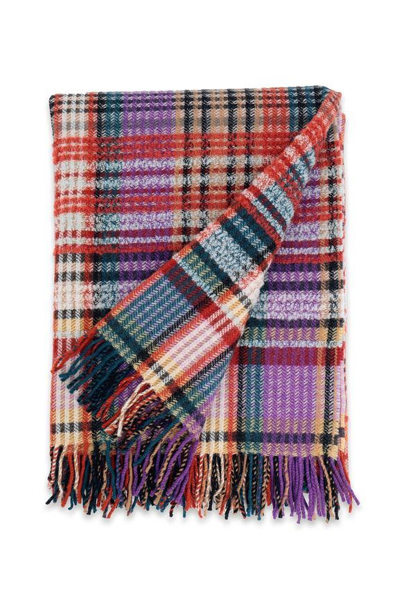 MISSONI HOME WHITAKER THROW Purple E