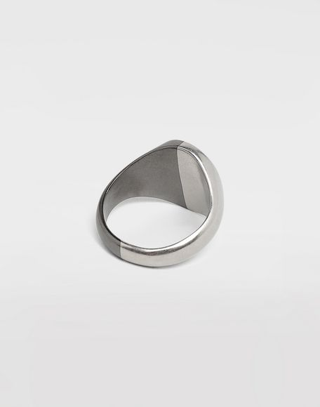 MAISON MARGIELA Silver signet ring Ring Man a