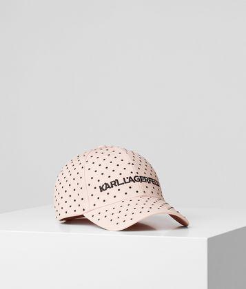 KARL LAGERFELD K/DOTS CAP
