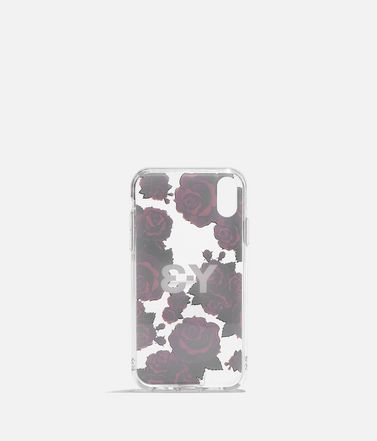 Y-3 Handy Case E Y-3 Snap Case Flower Graphic iPhone 6.1  r