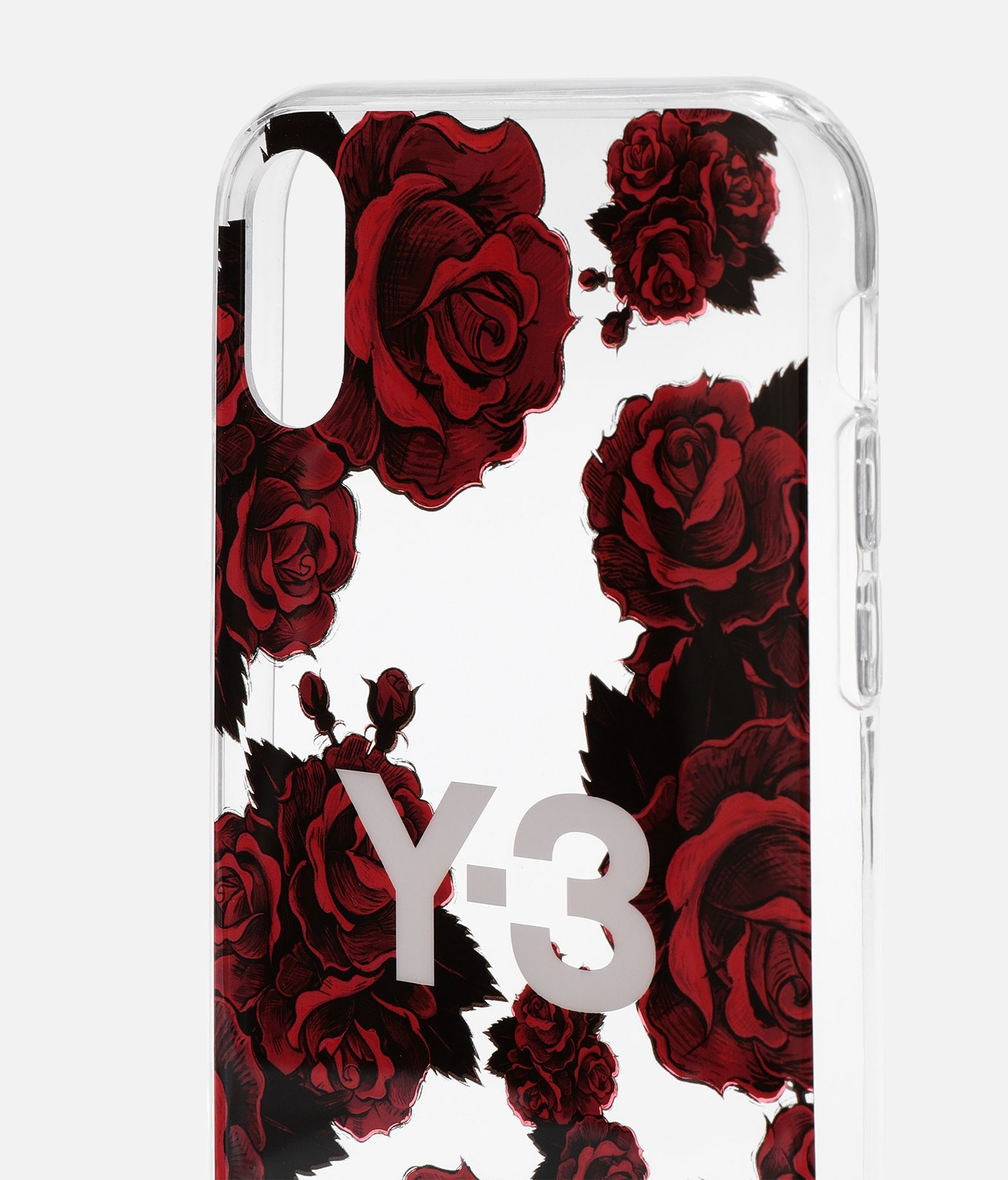 Y-3 Y-3 Snap Case Flower Graphic iPhone 6.1  Portacellulare E d