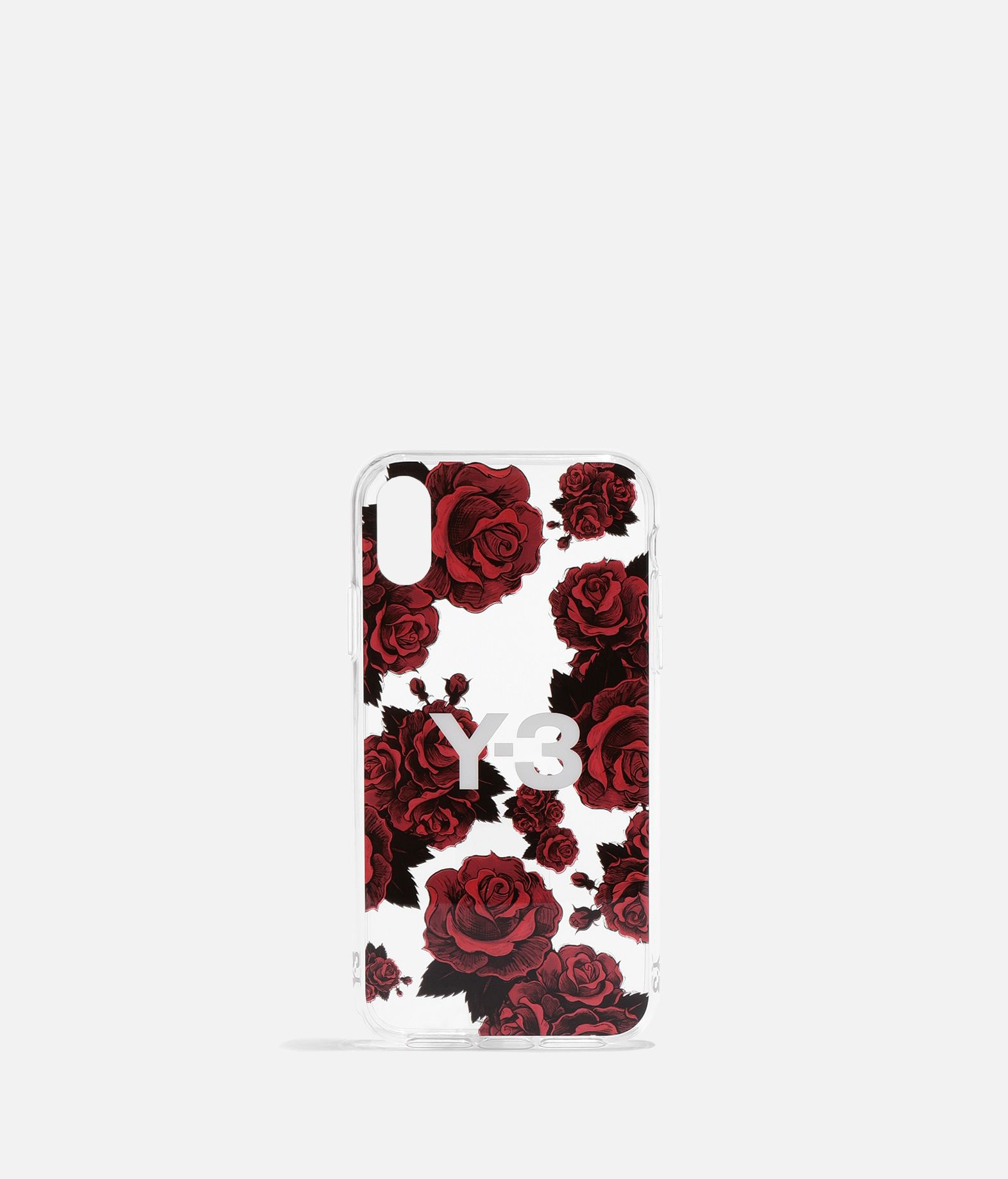 Y-3 Y-3 Snap Case Flower Graphic iPhone 6.1  Portacellulare E f