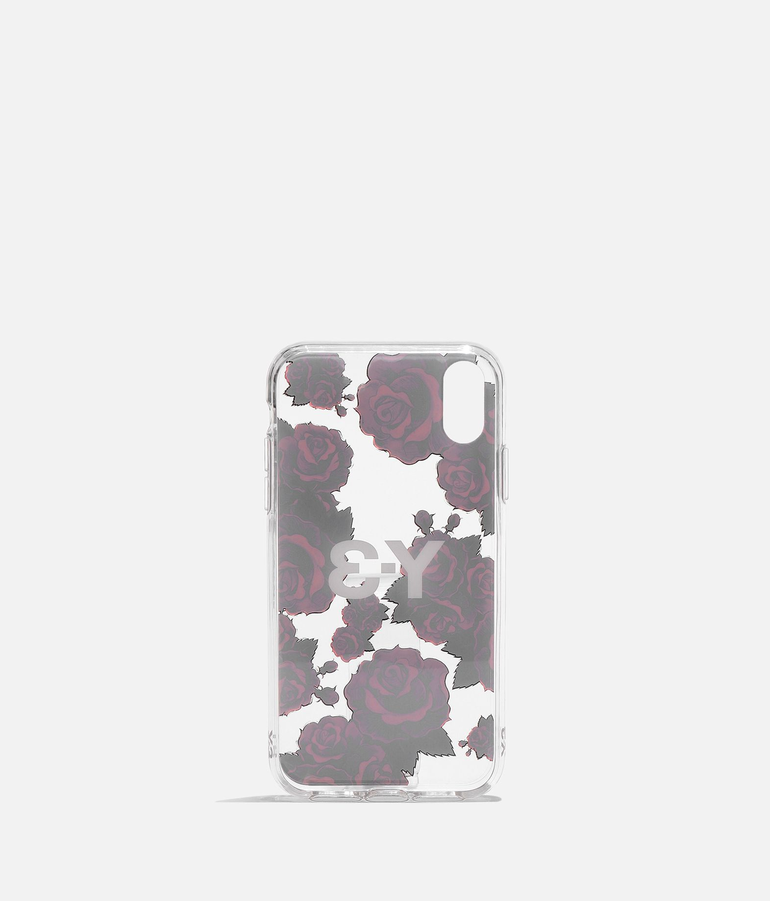Y-3 Y-3 Snap Case Flower Graphic iPhone 6.1  Portacellulare E r