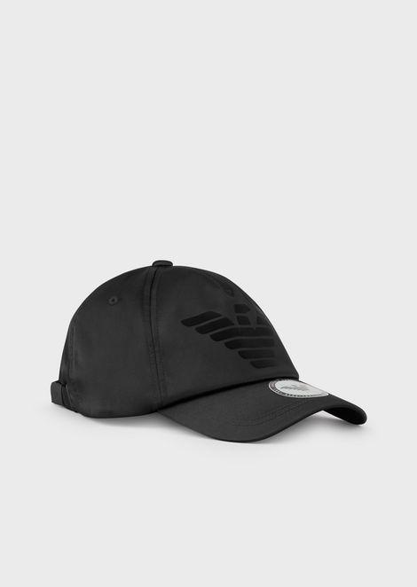 7296b871a8 Colore. Cappello da baseball con logo floccato