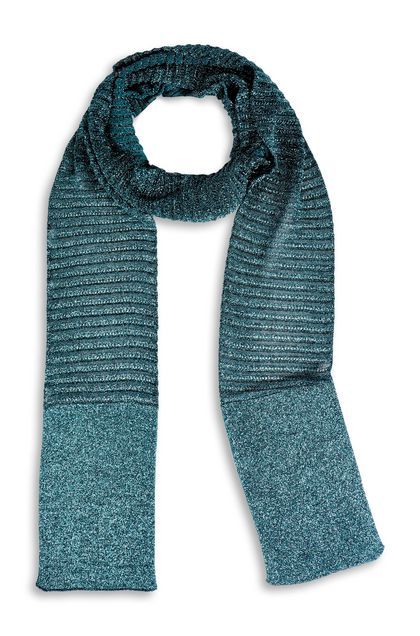 M MISSONI Scarf Deep jade Woman - Back