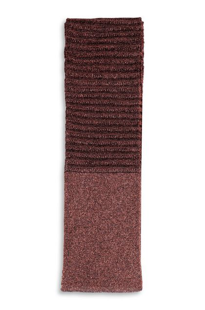 M MISSONI Scarf Rust Woman - Front