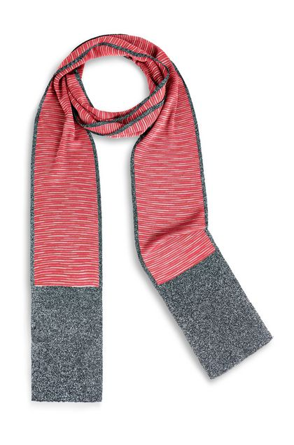 M MISSONI Scarf Brick red Woman - Back