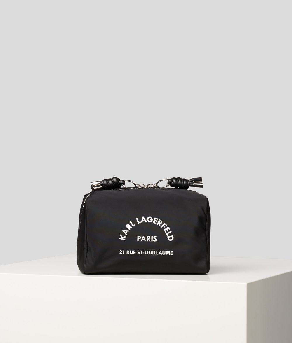 KARL LAGERFELD Rue St Guillaume Toiletry Bag Cosmetic case E f