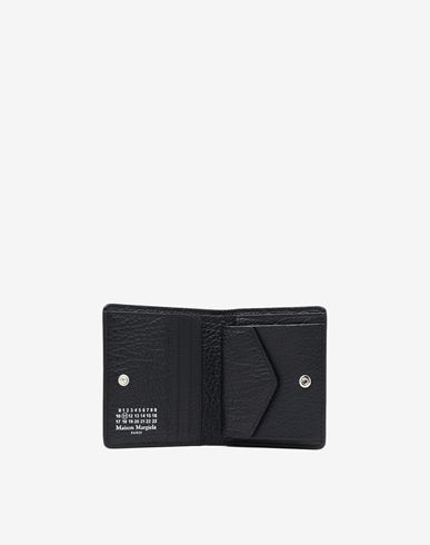 Small Leather Goods Leather popper wallet
