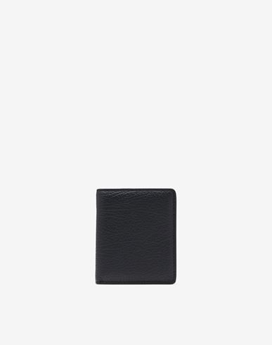 ACCESSORIES Leather popper wallet
