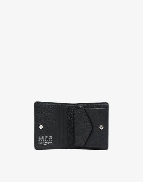MAISON MARGIELA Leather popper wallet Wallet Woman d