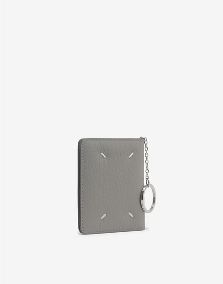 MAISON MARGIELA Leather keyring small wallet Wallet Woman r
