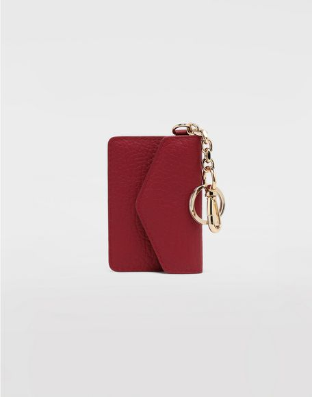MAISON MARGIELA Leather keyring wallet Wallet Woman f