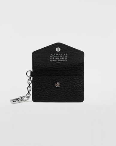 ACCESSORIES Leather keyring wallet