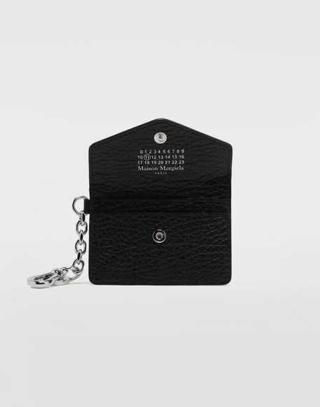 MAISON MARGIELA Leather keyring wallet Wallet Woman d
