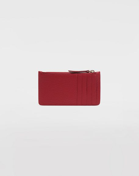 MAISON MARGIELA Leather card-holder wallet Wallets Woman f