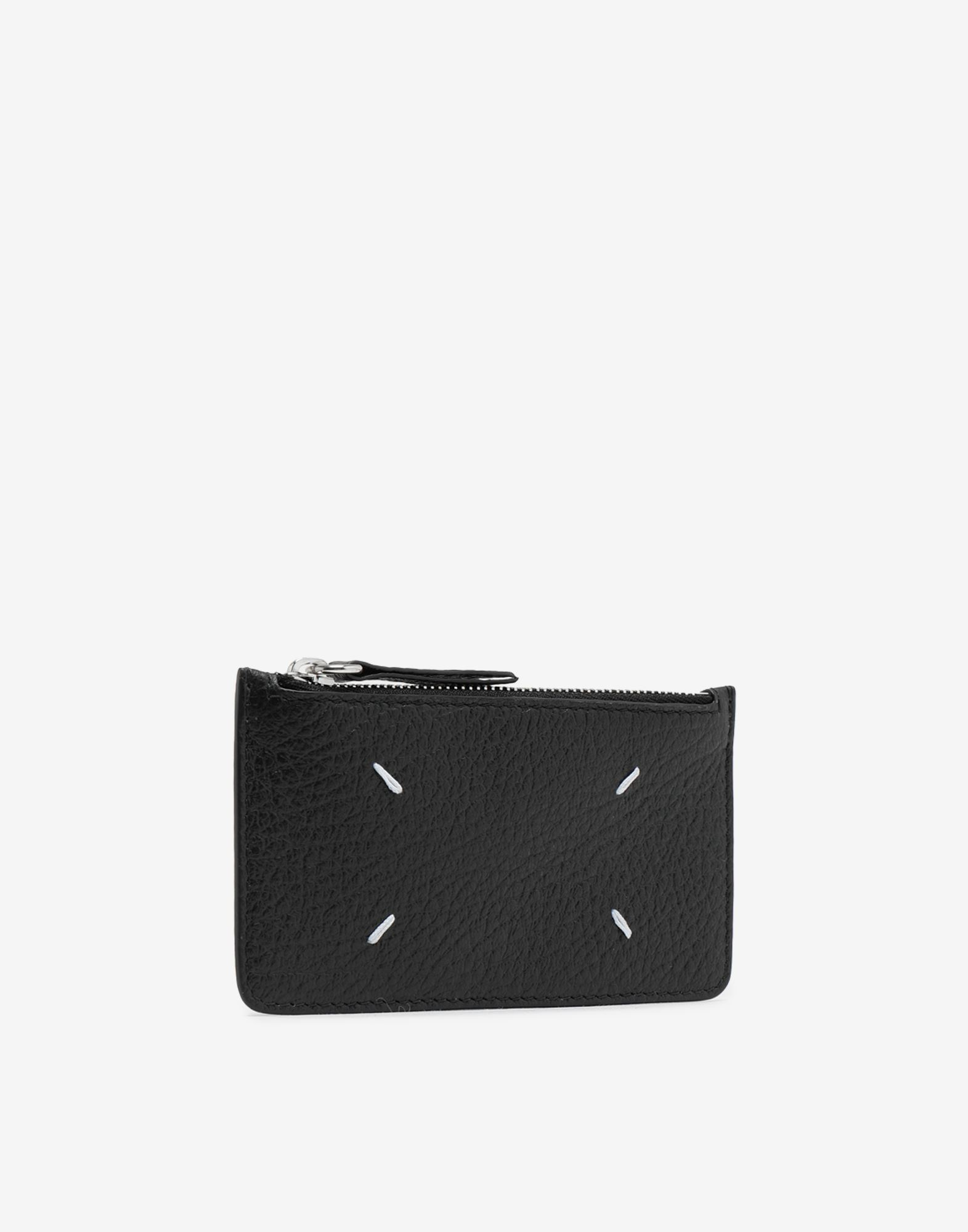 MAISON MARGIELA Leather card-holder wallet Wallet Woman r