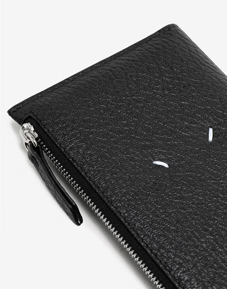 MAISON MARGIELA Leather zip-edge wallet Wallet Woman e