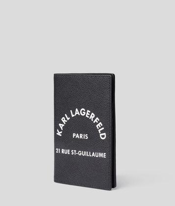 KARL LAGERFELD ÉTUI POUR PASSEPORT RUE ST GUILLAUME